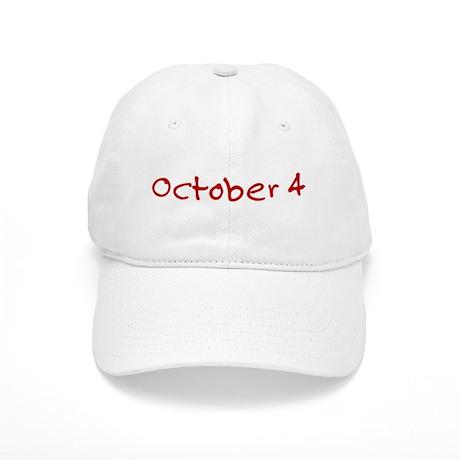 October 4 Cap