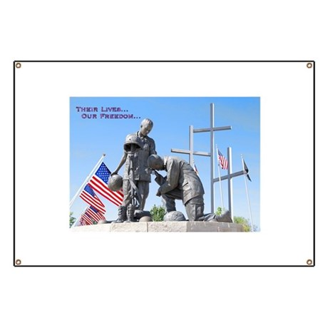 Military Memorial Banner
