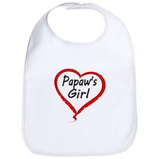 PAPAWS GIRL Bib