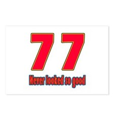77 Never Looked So Good Postcards (Package of 8)
