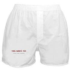 Veni. Natavi. Vici. Boxer Shorts