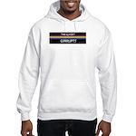 Closet Corrupts (White on Black) Hooded Sweatshirt