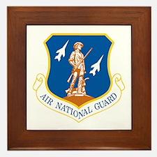 Air National Guard Framed Tile