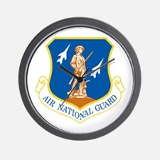 Air National Guard Wall Clock