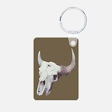 Bison Skull Keychains