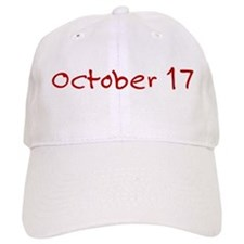October 17 Baseball Cap