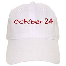 October 24 Baseball Cap