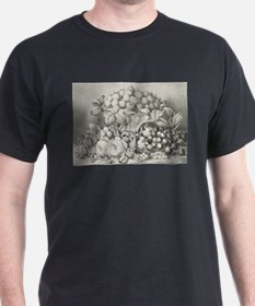 Fruit and flower piece - 1863 T-Shirt