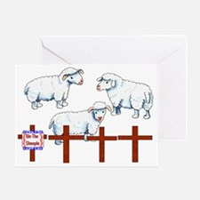 We The Sheeple Greeting Card