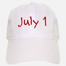 July 1 Baseball Baseball Cap