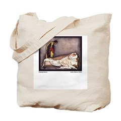 Harbour's Sleeping Beauty Tote Bag
