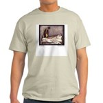 Harbour's Sleeping Beauty Ash Grey T-Shirt