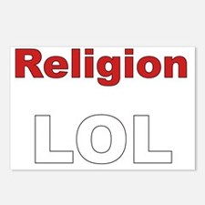 Religion LOL Postcards (Package of 8)