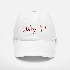 July 17 Baseball Baseball Cap