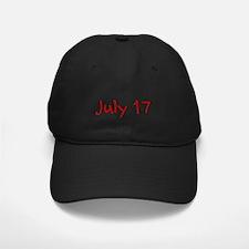 July 17 Baseball Hat