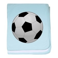 Soccer Ball baby blanket