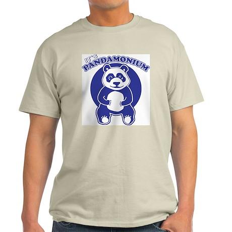 It's Pandamonium Ash Grey T-Shirt