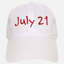 July 21 Baseball Baseball Cap