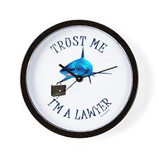 I'm a Lawyer (3) Wall Clock