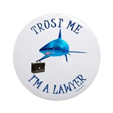 I'm a Lawyer (3) Ornament (Round)