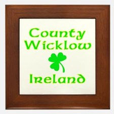 County Wicklow, Ireland Framed Tile