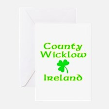 County Wicklow, Ireland Greeting Cards (Package of