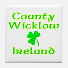 County Wicklow, Ireland Tile Coaster