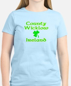 County Wicklow, Ireland Women's Pink T-Shirt