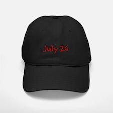 July 26 Baseball Hat