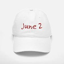 June 2 Baseball Baseball Cap