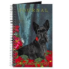 Scottish Terrier Scottie Christmas Journal