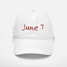 June 7 Baseball Baseball Cap