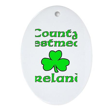 County Westmeath, Ireland Oval Ornament