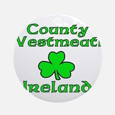 County Westmeath, Ireland Ornament (Round)