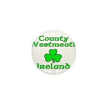 County Westmeath, Ireland Mini Button