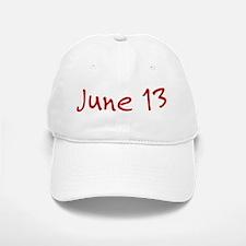 June 13 Baseball Baseball Cap
