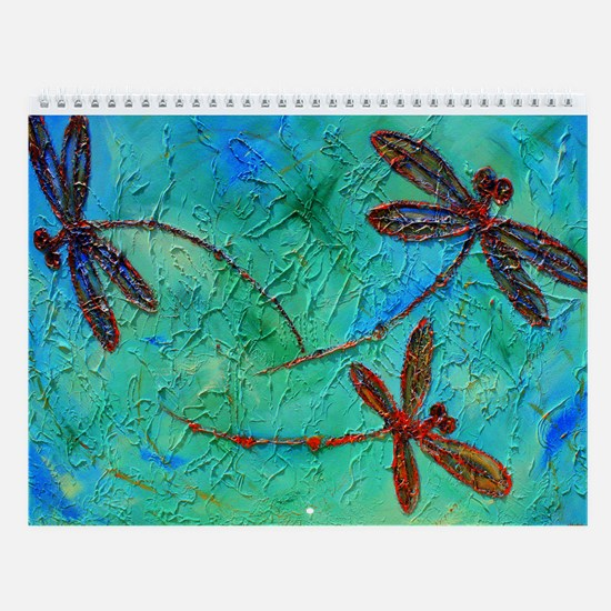 Dragonfly Dance Wall Calendar