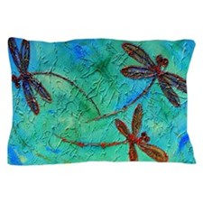 Dragonfly Dance Pillow Case