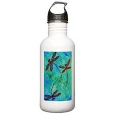 Dragonfly Dance Sports Water Bottle