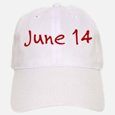 June 14 Baseball Baseball Cap