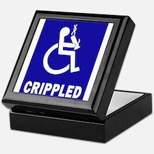Crippled Keepsake Box