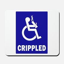Crippled Mousepad