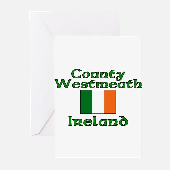 County Westmeath, Ireland Greeting Cards (Package