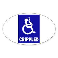 Crippled Decal