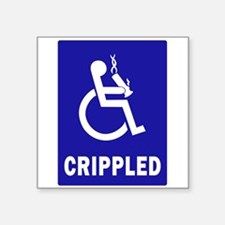 Crippled Sticker
