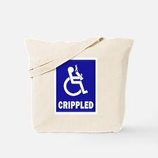 Crippled Tote Bag