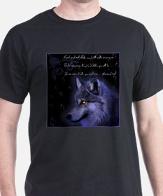 night wolf T-Shirt