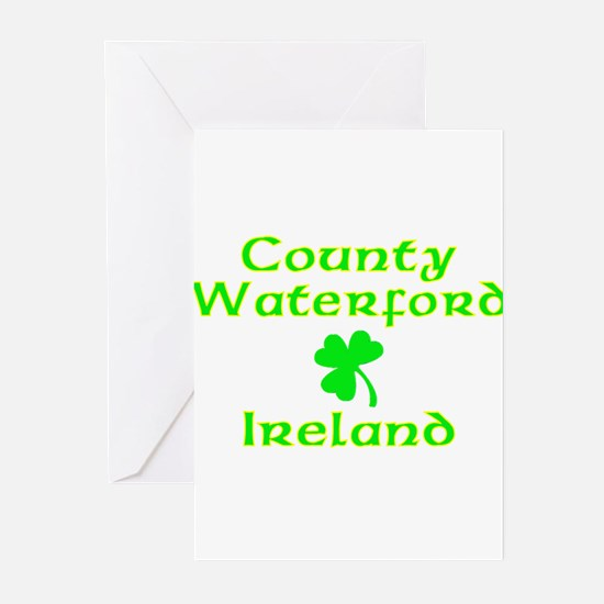 County Waterford, Ireland Greeting Cards (Package