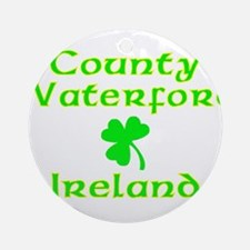 County Waterford, Ireland Ornament (Round)