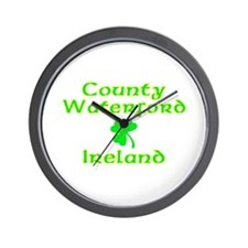 County Waterford, Ireland Wall Clock